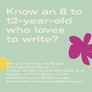 creative writing coach for kids skype